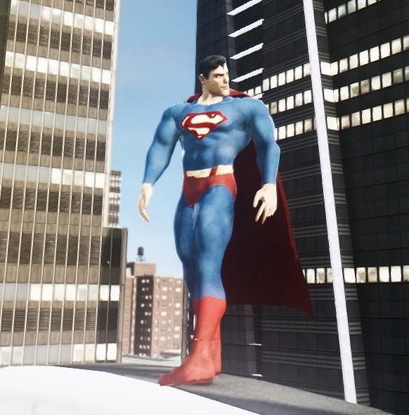 Скачать мод Супермен для GTA 4