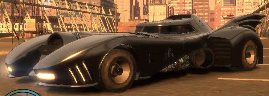 Used Cars Online >> GTA-Modding.com - Download Area » GTA IV » Cars » Batmobile