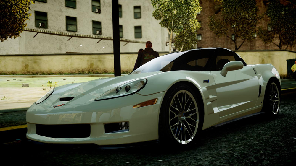 Gta Modding Download Area Gta Iv Cars Chevrolet Corvette Zr1