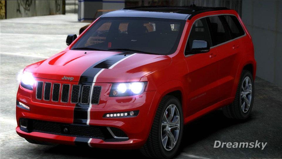 Used Jeep Grand Cherokee Srt8 >> GTA-Modding.com - Download Area » GTA IV » Cars » Jeep Grand Cherokee SRT8