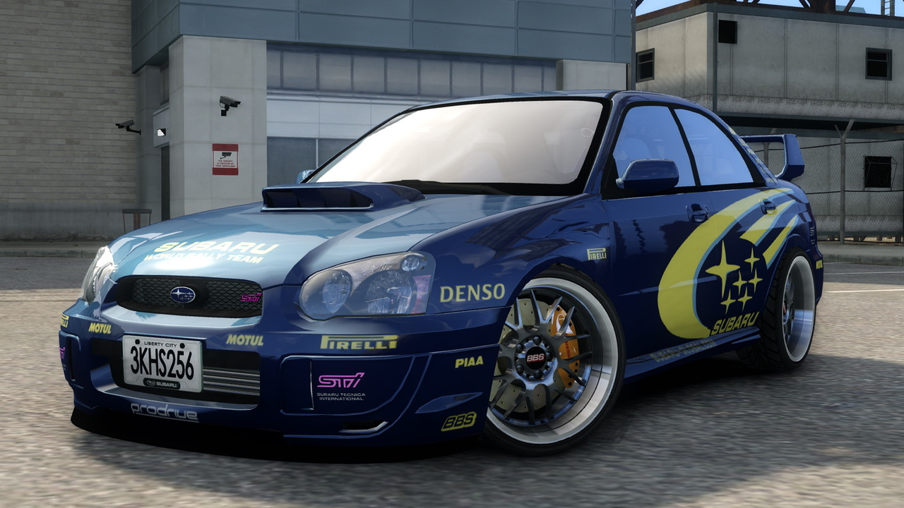 GTA-Modding.com - Download Area » GTA IV » Cars » Subaru ...
