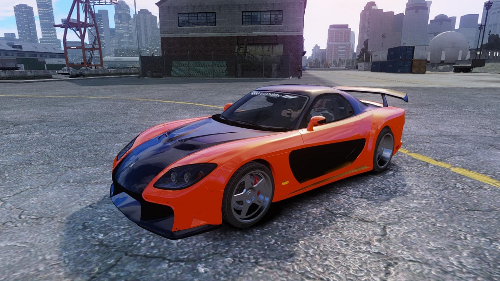 GTAModdingcom  Download Area  GTA IV  Cars  Mazda RX7