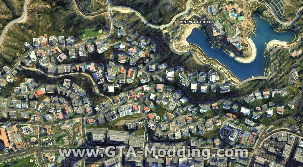 GTA-Modding com - Download Area » GTA V » Misc » GTAV HD Satellite Map