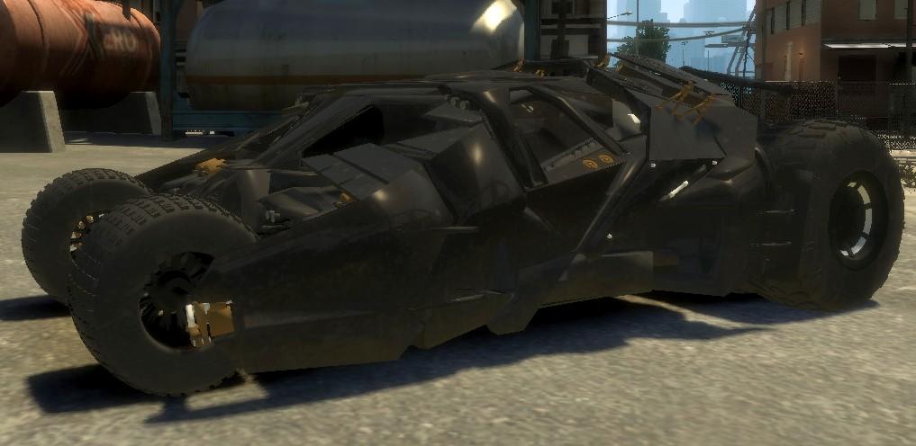 GTA-Modding com - Download Area » GTA IV » Cars » Batman Tumbler