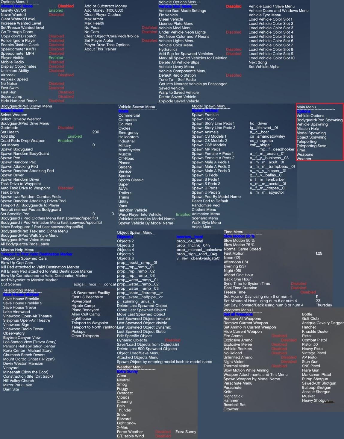 GTA-Modding com - Download Area » GTA V » Trainers » Simple