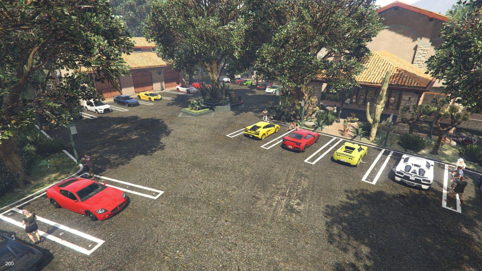 Where Do You Park Trevors Cars