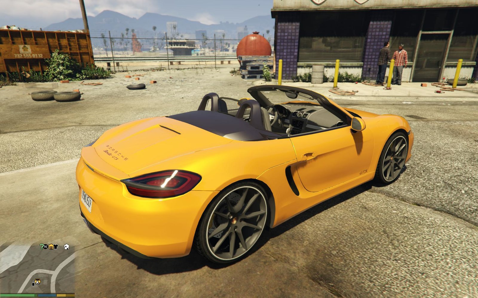 GTA-Modding com - Download Area » GTA V » Cars » Porsche Boxster GTS