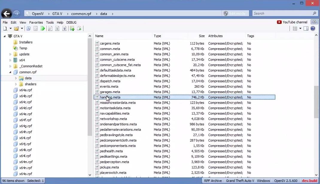 GTA-Modding com - Download Area » GTA V » Tools » OpenIV