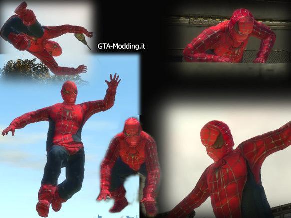 GTA-Modding com - Download Area » GTA IV » Skins » Spiderman Skin