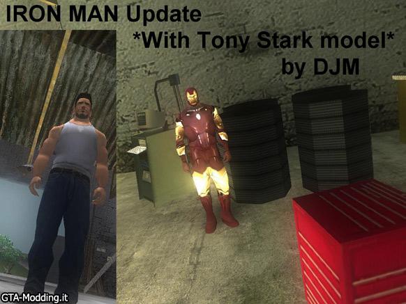 GTA-Modding com - Download Area » GTA San Andreas » Skins » Iron Man