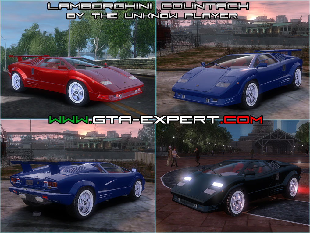 gta download area gta iv cars lamborghini countach. Black Bedroom Furniture Sets. Home Design Ideas