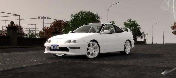 GTAModdingcom Download Area GTA IV Cars Acura Integra TypeR - Acura integra mods