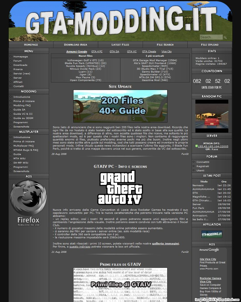 GTA-Modding.it 2008